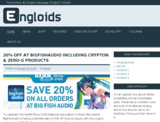 engloids.info screenshot
