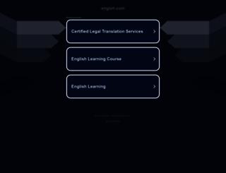 englsh.com screenshot