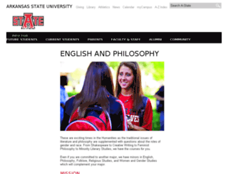 engphil.astate.edu screenshot