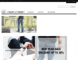 engravedenim.com screenshot
