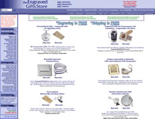 engravedgiftsdirect.com screenshot