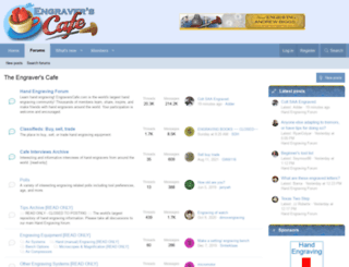 engraverscafe.com screenshot