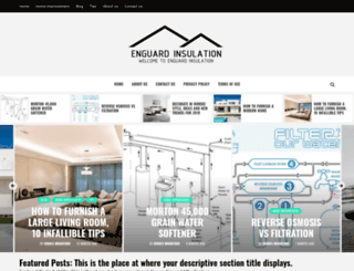 enguardinsulation.com screenshot