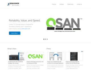 enhance-tech.com screenshot