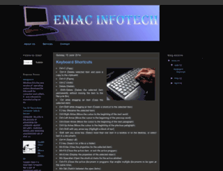 eniacinfotech.blogspot.in screenshot