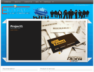 eniacsoftware.com screenshot