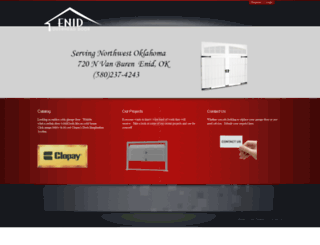 enidoverheaddoor.com screenshot