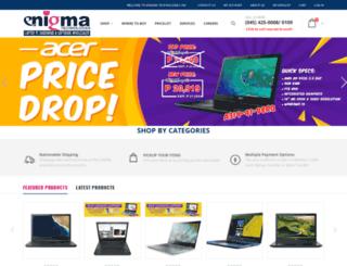 enigma-phil.com.ph screenshot