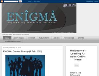 enigma-uthm.blogspot.com screenshot