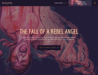 enigmamusic.com screenshot