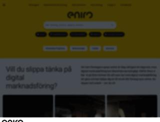 eniro.com screenshot