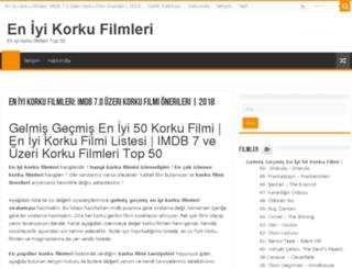 eniyikorkufilmleri.net screenshot