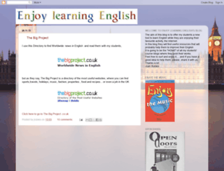 enjoy-learningenglish.blogspot.com screenshot
