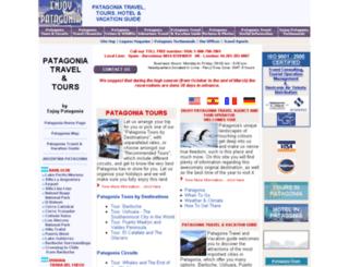 enjoy-patagonia.org screenshot