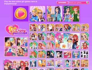 enjoydressup.net screenshot