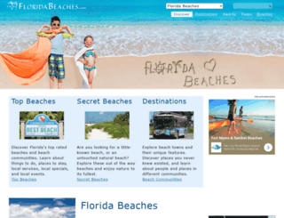 enjoyfloridabeaches.com screenshot
