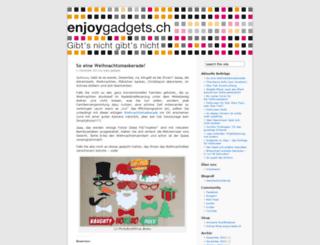 enjoygadgets.wordpress.com screenshot