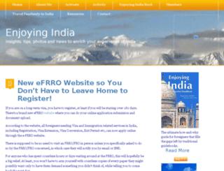 enjoyingindia.com screenshot