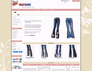 enjoyjeans.de screenshot