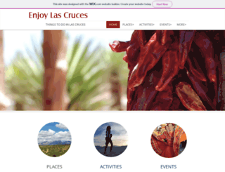 enjoylascruces.com screenshot
