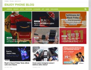 enjoyphoneblog.it screenshot