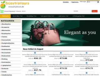 enjoytriptours.de screenshot