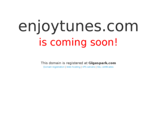 enjoytunes.com screenshot