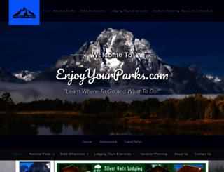 enjoyyourparks.com screenshot