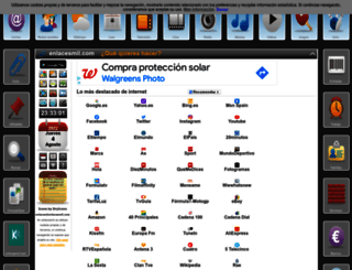 enlacesmil.com screenshot