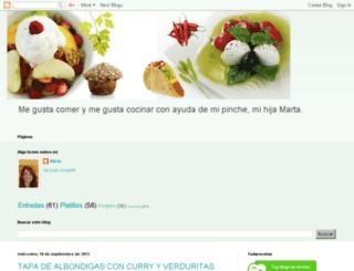 enlacocinadealicia.blogspot.com screenshot