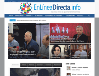 enlineadirecta.info screenshot