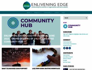enliveningedge.org screenshot