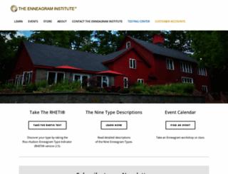 enneagraminstitute.com screenshot