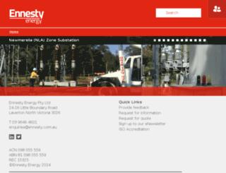 ennesty.com.au screenshot