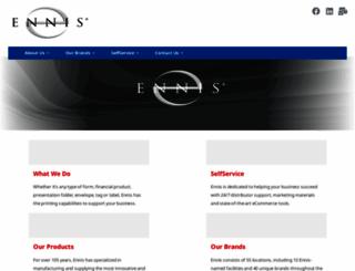 ennis.com screenshot
