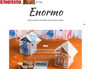 enormo.fr screenshot