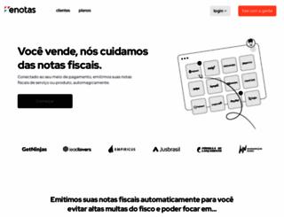 enotas.com.br screenshot