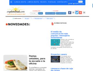 enplenitud.org screenshot