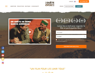 enquetedesens-lefilm.com screenshot