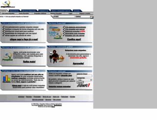 enquetes.com.br screenshot