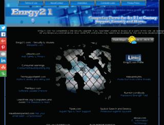 enrgy21.com screenshot