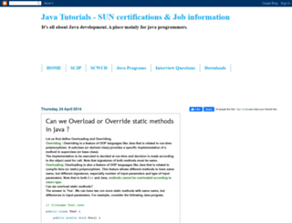 enrichjava.blogspot.in screenshot