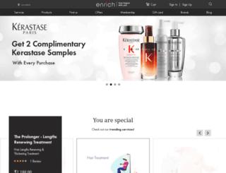 enrichsalon.com screenshot