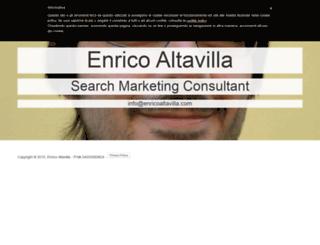 enricoaltavilla.com screenshot