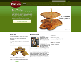 enricoproducts.com screenshot