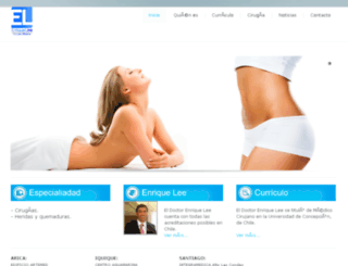 enriquelee.com screenshot