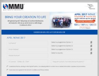 enrol.mmu.edu.my screenshot