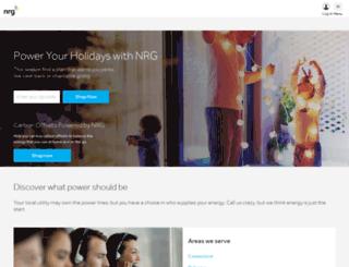 enroll.nrghomepower.com screenshot