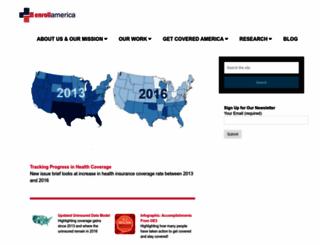 enrollamerica.org screenshot