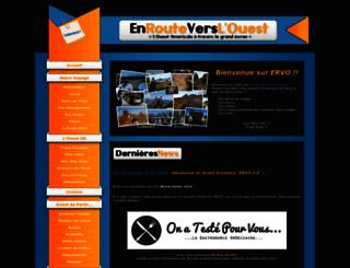 enrouteverslouest.free.fr screenshot